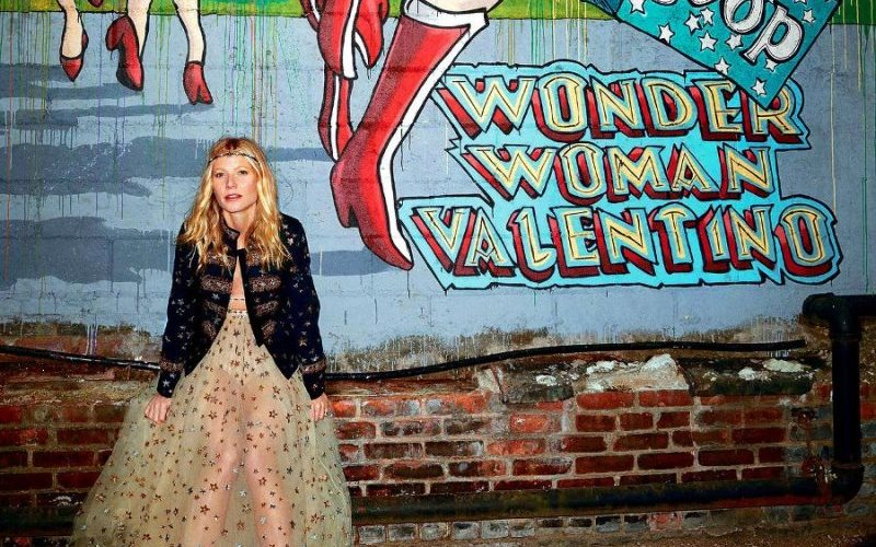 A dowpour of stars: Goop x Valentino