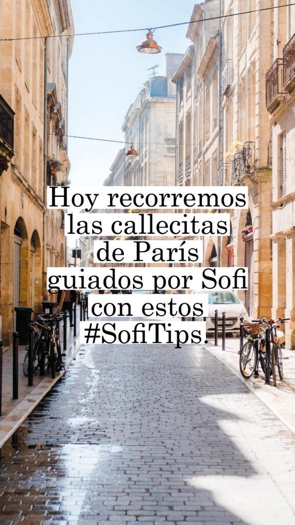 Sofi tips París